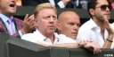 DJOKOVIC ADVISER/COACH BORIS BECKER IS VALUABLE WHILE IN BROADCAST BOOTH thumbnail