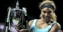 PHOTOS FROM EPA OF SERENA WILLIAMS DURING THE WTA SINGLES FINAL MATCH IN SINGAPORE thumbnail