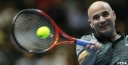 "ANDRE AGASSI TO PLAY ""HIT & GIGGLE"" & FINDS HE IS OUT OF HIS LEAGUE & IPTL IS A SERIOUS HIGH LEVEL OF TENNIS thumbnail"