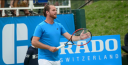 """PETE SAMPRAS VS. XAVIER """"X-MAN"""" MALISSE IN FINALS IN ATP TENNIS IN BELGIUM; SAMPRAS SAYS HE IS OPEN TO COACHING IN LOS ANGELES, AND """"X"""" SAYS BELGIUM CAN GET THRU DAVIS CUP thumbnail"""