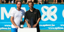 """ATP TENNIS CHAMPIONS TOUR KNOKKE – XAVIER """"X-MAN"""" MALISSE BEATS PETE SAMPRAS; AND PETE SAMPRAS SAYS FEDERER WILL WIN AN 18TH SLAM & PETE TALKS TO DAVID LAW ABOUT ALL THE TOP PLAYERS & HOW HE WOULD COACH thumbnail"""