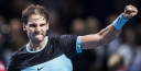 RAFAEL NADAL EDGES GASQUET FOR BASEL FINALS AT THE SWISS INDOORS AGAINST THE SWISS MASTER / MAESTRO ROGER FEDERER thumbnail