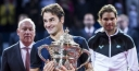 ROGER FEDERER BEATS RAFAEL NADAL FOR SEVENTH BASEL CROWN AT THE SWISS INDOORS, SWISS NOTCHES 88th TOUR-LEVEL TITLE, ROGER'S FAVORITE NUMBERS 8/8 thumbnail
