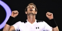 ANDY MURRAY BATTLES FOR EVERY SINGLE POINT TO BEAT DAVID FERRER IN THE AUSTRALIAN OPEN TENNIS thumbnail