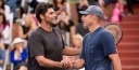 ANDY RODDICK HANDS MARK PHILIPPOUSSIS HIS FIRST POWERSHARES SERIES LOSS OF 2016 thumbnail