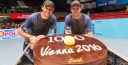ANDY MURRAY INTO SF IN VIENNA TENNIS, AND AUSTRIA IS THE SITE WHERE THE BRYAN BROTHERS EARN THEIR 1,000TH WIN!!! thumbnail