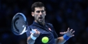 DJOKOVIC FIRST TO CLINCH SEMIFINAL SPOT AT WORLD TOUR FINALS AFTER BEATING RAONIC IN TWO TIEBREAKERS thumbnail