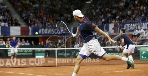 Tennis Davis Cup - France vs Britain
