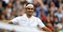 THIRTY-FIVE YEARS YOUNG, ROGER FEDERER PLAYING WIMBLEDON 2017 WITH PASSION AND A GREAT LOVE OF TENNIS AND THE A.E.L.T.C. CENTER COURT thumbnail