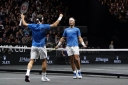 ROGER FEDERER, RAFAEL NADAL TEAM UP IN DOUBLES TO GIVE EUROPEANS MASSIVE LEAD IN LAVER CUP TENNIS thumbnail