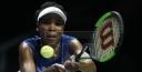 VENUS WILLIAMS TENNIS SUPER STAR INTO WTA FINALS IN SINGAPORE thumbnail