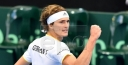 TENNIS NEWS • AUSTRALIA, ITALY JOINS UNITED STATES IN DAVIS CUP QUARTERFINALS AS ZVEREV, FOGNINI WIN CLINCHERS thumbnail