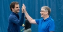 ROGER FEDERER AND BILL GATES RAISE $2.5 MILLION IN TENNIS MATCH FOR AFRICA 5 thumbnail