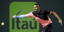 AUSSIE • ATP • TENNIS STAR NICK KYRGIOS BEATS FABIO FOGNINI 6-3, 6-3 IN MIAMI thumbnail