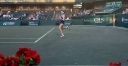 WTA LADIES ARE PLAYING TENNIS IN CHARLESTON • VERY VOCAL FANS thumbnail