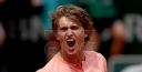 ALEXANDER ZVEREV FIGHTS INTO FIRST MAJOR QUARTERFINAL IN PARIS TENNIS • HOTTEST NEW ATP STAR IS REFRESHING thumbnail