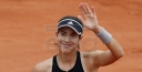 GARBINE MUGURUZA CRUSHES MARIA SHARAPOVA @ ROLAND GARROS IN PARIS @THE FRENCH OPEN TENNIS thumbnail