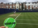 POSTCARD FROM 10SBALLS STAFFERS AS THEY ARRIVE FOR THE FEVER-TREE TENNIS CHAMPIONSHIPS @THE QUEENS CLUB thumbnail