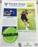 POSTCARD FROM FEVER-TREE ATP MEN'S TENNIS AT THE QUEENS CLUB IN LONDON thumbnail
