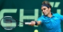 ROGER FEDERER TENNIS GOLDEN MAN WILL PLAY BORNA CORIC IN FINALS @HALLE   GERRY WEBER TOURNEY • GERMANY 2018 thumbnail