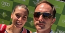 DUSAN VEMIC AND ANDREA PETKOVIC SEND 10SBALLS A POSTCARD FROM THE BOODLES TENNIS IN LONDON @ STOKE PARK thumbnail