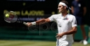 New-Look • Roger Federer Cruises In Wimbledon Opener Over Dusan LAJOVIC • Nike Fumble • Swoosh On Shoes By: Richard Pagliaro thumbnail
