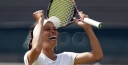 WIMBLEDON TENNIS NEWS • HSIEH SHOCKS WORLD WTA NO. 1 SIMONA HALEP thumbnail