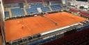 DUSAN VEMIC SENDS 10SBALLS TENNIS A DAVIS CUP POSTCARD • SERBIA PLAYS INDIA thumbnail
