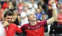 Tennis News• Canada Leads 2-0 Against  the Netherlands • Davis Cup/Le Canada mène 2-0 contre les Pays-Bas après la première journée thumbnail