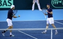 GREAT BRITAIN DAVIS CUP TENNIS TEAM UPDATE • JAMIE MURRAY WINS IN DOUBLES thumbnail