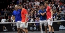 LAVER CUP • ROGER FEDERER   NOVAK DJOKOVIC LOSE IN DUBS BUT TEAM EUROPE STILL LEADS 3-1 IN CHICAGO thumbnail